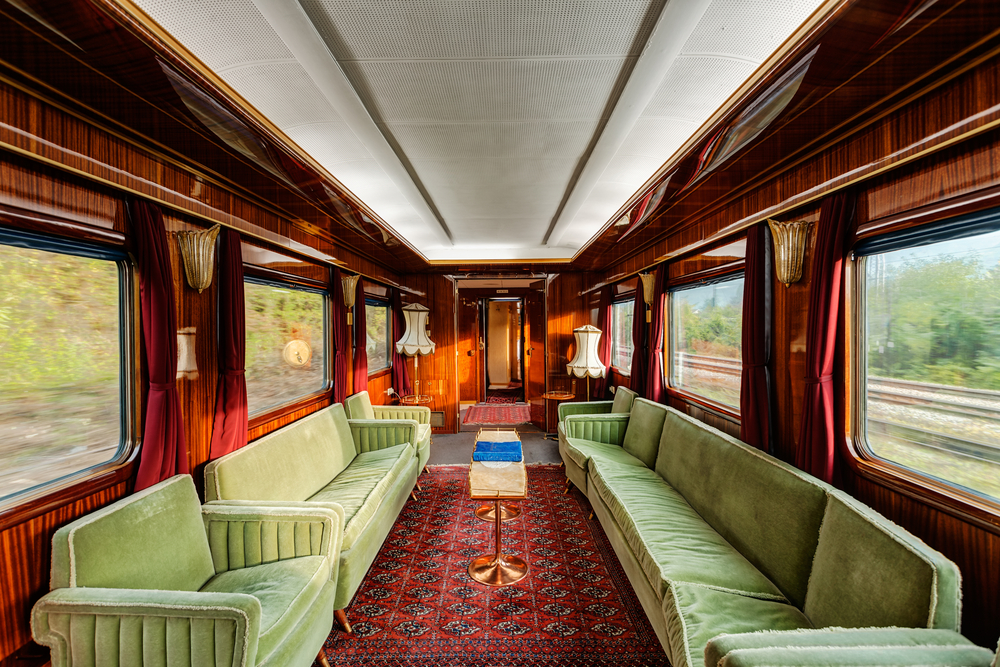 ALL ABOARD! The World's Great Train Voyages