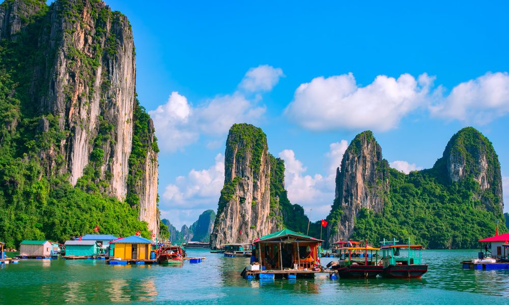 Ha Long Bay Junk Boats