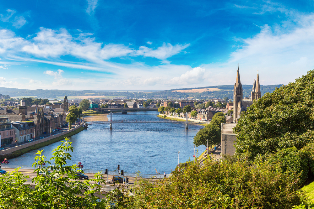 Inverness – A Beauty Spot for All Seasons
